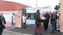 Mouvement de grève au lycée professionnel Jacob Holtzer