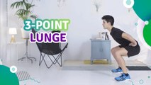 3-point lunge - Fit People