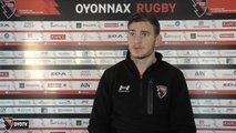 Point presse avant Carcassonne / Oyonnax - 17ème journée Pro D2