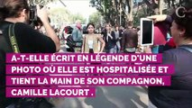 La compagne de Camille Lacourt malade : elle reçoit le soutien de Valérie Bègue