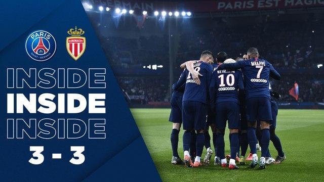Inside : Paris Saint-Germain - AS Monaco