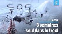 Alaska : un SOS dessiné dans la neige lui sauve la vie