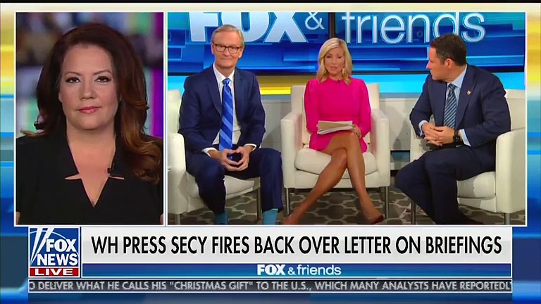 Fox News Hosts, Trump Administration Both Blame Journalists For End of White House Press Briefings
