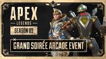 Apex Legends: Season 3 - Official Grand Soirée Arcade Event Trailer (2020)