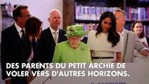 """Meghan et Harry : Elizabeth II autorise une """"période de transition"""""""