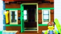 LEGO Jurassic World and Ninjago STOP MOTION LEGO Animation for Kids - LEGO Videos - Billy Bricks