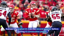 Patrick Mahomes and Chiefs Break Records in Comeback Win Against Texans