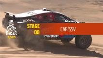 Dakar 2020 - Stage 8 (Wadi Al-Dawasir / Wadi Al-Dawasir) - Car/SSV Summary