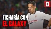 Galaxy envió emisarios a Sevilla para fichar a Chicharito