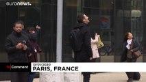 """شاهد: """"سبايدرمان"""" الفرنسي يدعم الاحتجاجات ضدّ إصلاح نظام التقاعد"""