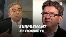 """Ghosn """"rend hommage"""" à Mélenchon qui l'a soutenu dans sa fuite"""