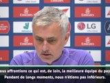 """Premier League - Mourinho : """"Contre Liverpool, nous étions parfois les plus forts"""""""