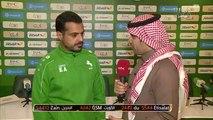 خالد العطوي هدفنا أن نملك فريق له هوية وشخصية.. ولا أعتقد أن الهيئة تجامل الاتحاد على حساب الاتفاق