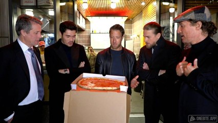 Barstool Pizza Review - Norm's Pizza (Brooklyn) With Special Guests Matthew McConaughey, Charlie Hunnam, Hugh Grant and Henry Golding