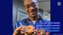 Snoop Dogg Made a Sandwich for Dunkin'