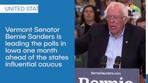 Bernie Sanders Leading Iowa Polls