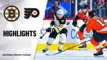 NHL Highlights | Bruins @ Flyers 01/13/20