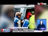 Minibus Tabrak Truk, Dua Orang Tewas Terjepit