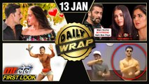 Sara Ali Khan To ROMANCE Akshay Kumar, Salman Khan On EXES, Varun Dhawan's FIRST Look | Top 10 News