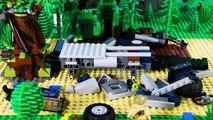 LEGO Jurassic World STOP MOTION LEGO Dinosaur Attack Compilation - LEGO Jurassic Park - Billy Bricks