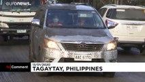 شاهد: الفيليبين تعيش حالة إنذار مع اقتراب ثوران البركان تال