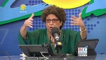 Hector Peña oyente denuncia bandera en mal estado en una plaza de Boston