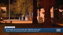 Mesa father speaks after police kill armed 18 year old son