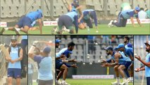 IND VS AUS 2020 : India Getting Ready At Wankhede For 1st ODI Against Australia || Oneindia Telugu