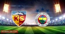 Kayserispor Fenerbahçe maçı ne zaman, saat kaçta, nerede? Ziraat Türkiye Kupası Kayserispor Fenerbahçe maçı hangi kanalda? Fenerbahçe maçı şifresiz mi