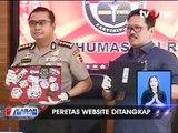 Polisi Tangkap 2 Pelaku Peretas Situs PN Jakarta Pusat