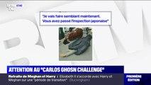"""""""Carlos Ghosn Challenge"""": ces internautes parodient la technique supposée de l'ancien PDG pour s'enfuir du Japon"""