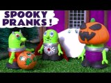 Funny Funlings Spooky Pranks Halloween with Ghost Funling and Marvel & DC Comics Superheroes in this Family Friendly Toy Story Full Episode English
