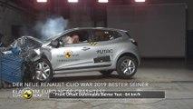 Neuer Renault Clio ist klassenbester im Euro NCAP-Crashtests