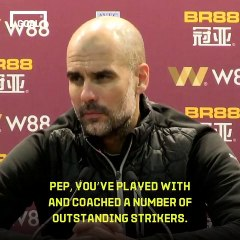 Guardiola: Aguero is good, but Messi is the GOAT
