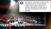 Korean stars, nagpaabot ng mensahe sa mga apektado ng pagsabog ng Taal | UKG