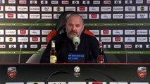 Conférence de presse de Pascal Dupraz après FC Lorient / SMCaen