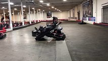 Accident de karting