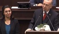 Erdoğan kürsüye çağırdı, Demirtaş'ı eleştirip Said-İ Nursi ile kapattı
