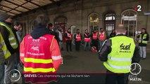 Réforme des retraites : des cheminots qui ne désespèrent pas à Strasbourg