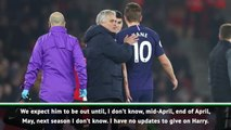 We don't know how long Kane will be out - Mourinho