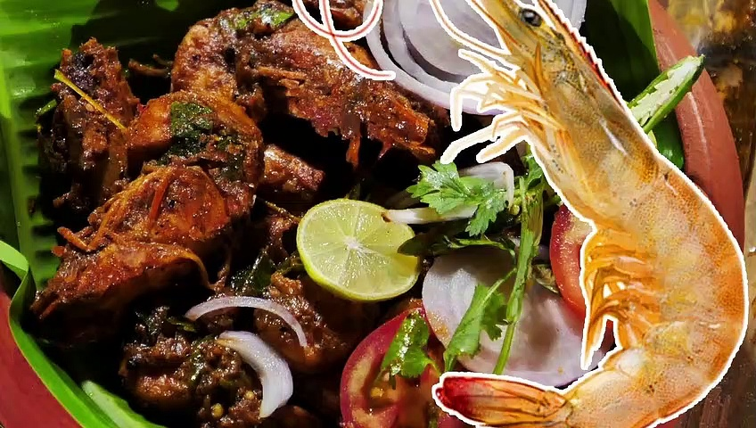നിങ്ങൾ ഇതുവരെ കാണാത്ത കൊഞ്ച് ഫ്രൈ | traditional kerala prawns fry | Kerala Prawns fry | Malayalam