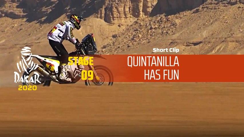Dakar 2020 - Étape 9 / Stage 9 - Quintanilla has fun