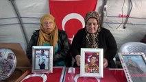 Diyarbakır hdp önündeki eylemde 134'üncü gün
