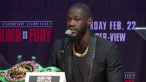 The only belt Fury has is the one holding his trousers up - Wilder