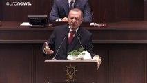 Cumhurbaşkanı Erdoğan: 'Darbeci Hafter Moskova'dan kaçtı, masada yalan darbesi yaptı'