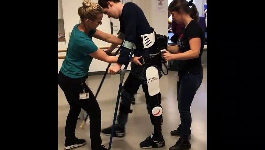 Cycling - Edo Maas walks again with help of bionic legs