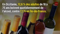 Alcool : dans quelles régions boit-on le plus tous les jours ?
