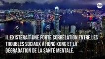 Le stress post-traumatique en hausse à Hong Kong depuis le début des manifestations