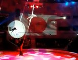 La lourde chute de 6 mètres d'une funambule dans un cirque en Russie !