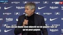 Quique Setién dévoile ses objectifs avec le FC Barcelone